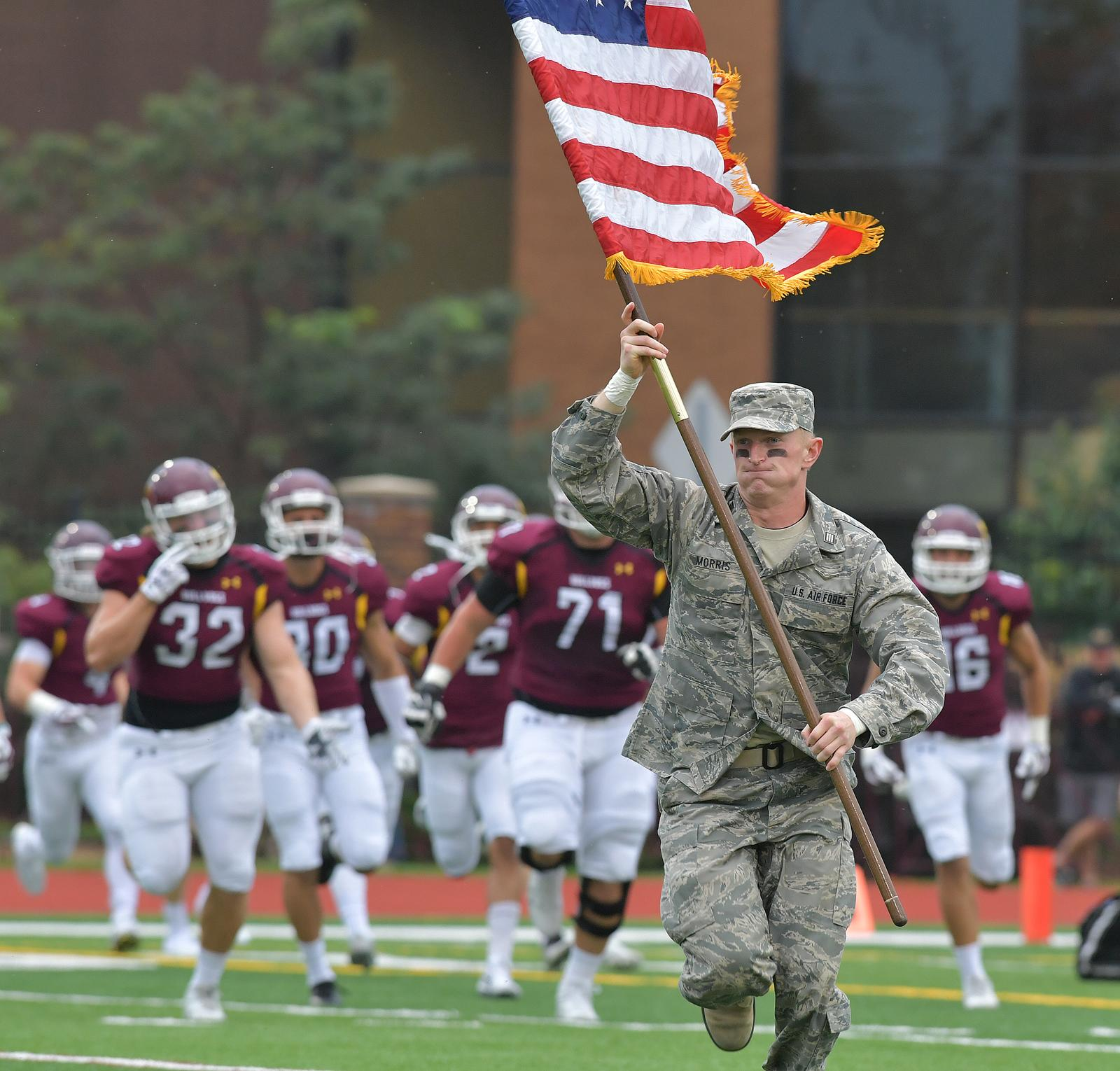 umd football promotional schedule includes annual military