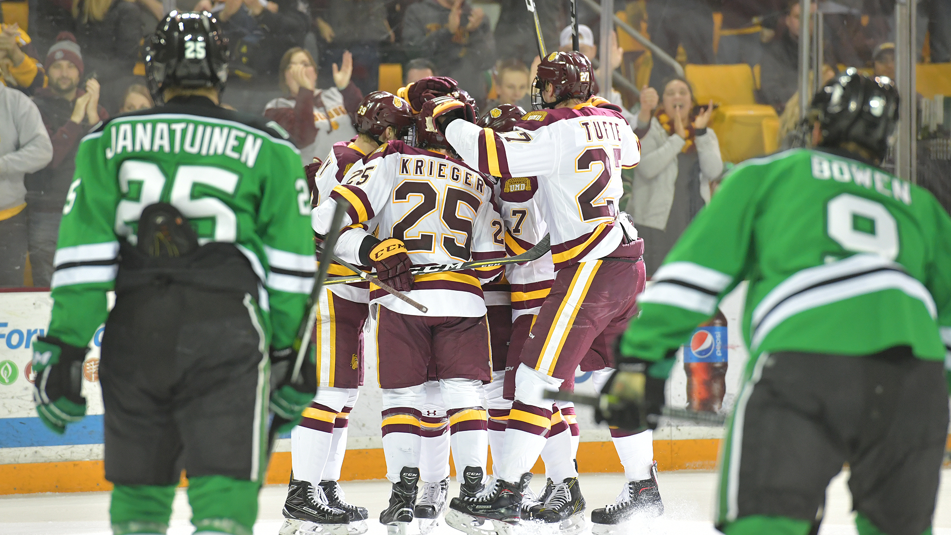 long-time rivals umd and north dakota to reunite this weekend in