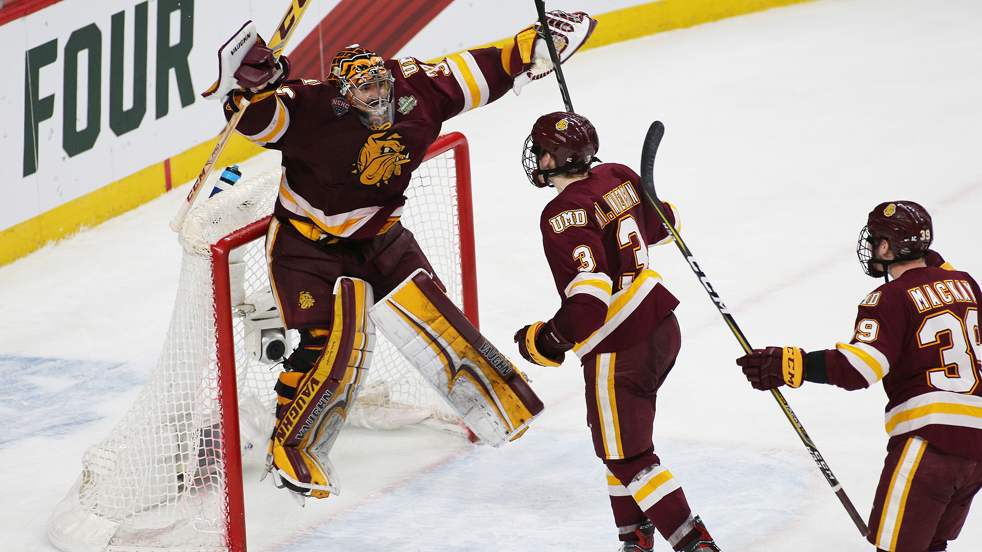 SHEPARD NAMED UMD'S MOST VALUABLE PLAYER; MACKAY TO ...