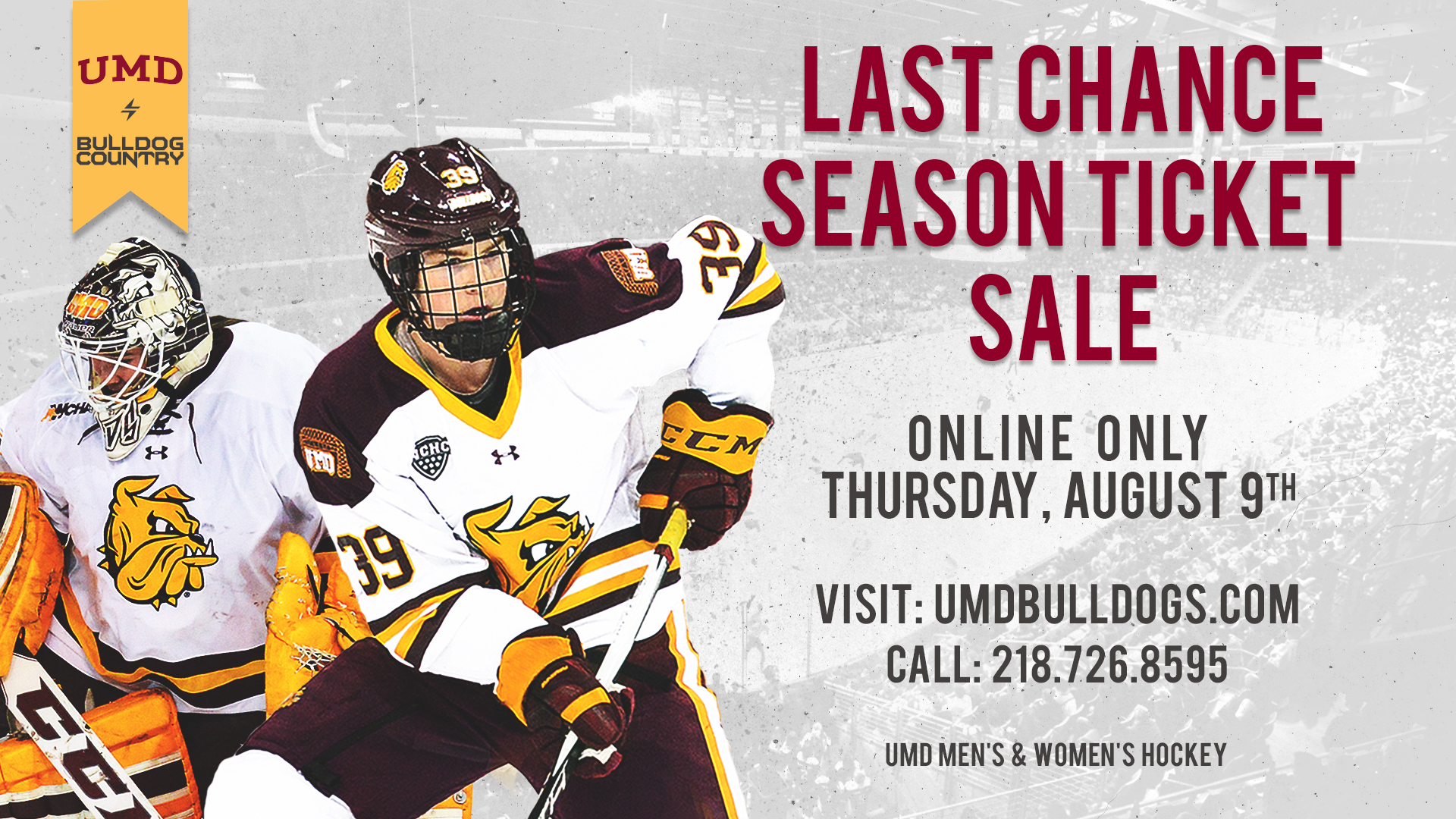 umd hockey last chance season ticket sale is online this thursday