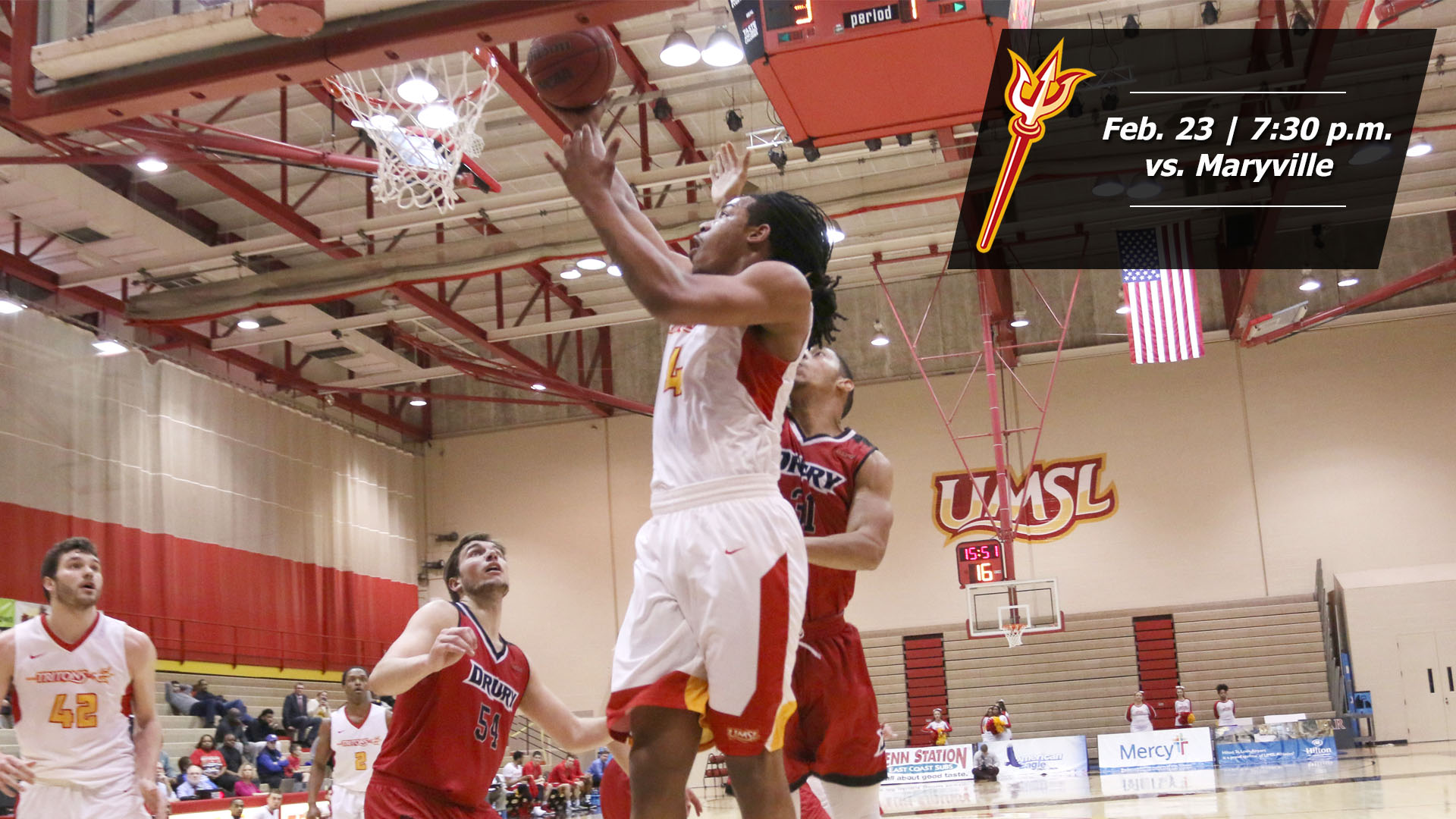 Men's Basketball Hosts Maryville With GLVC Tournament Bid ...