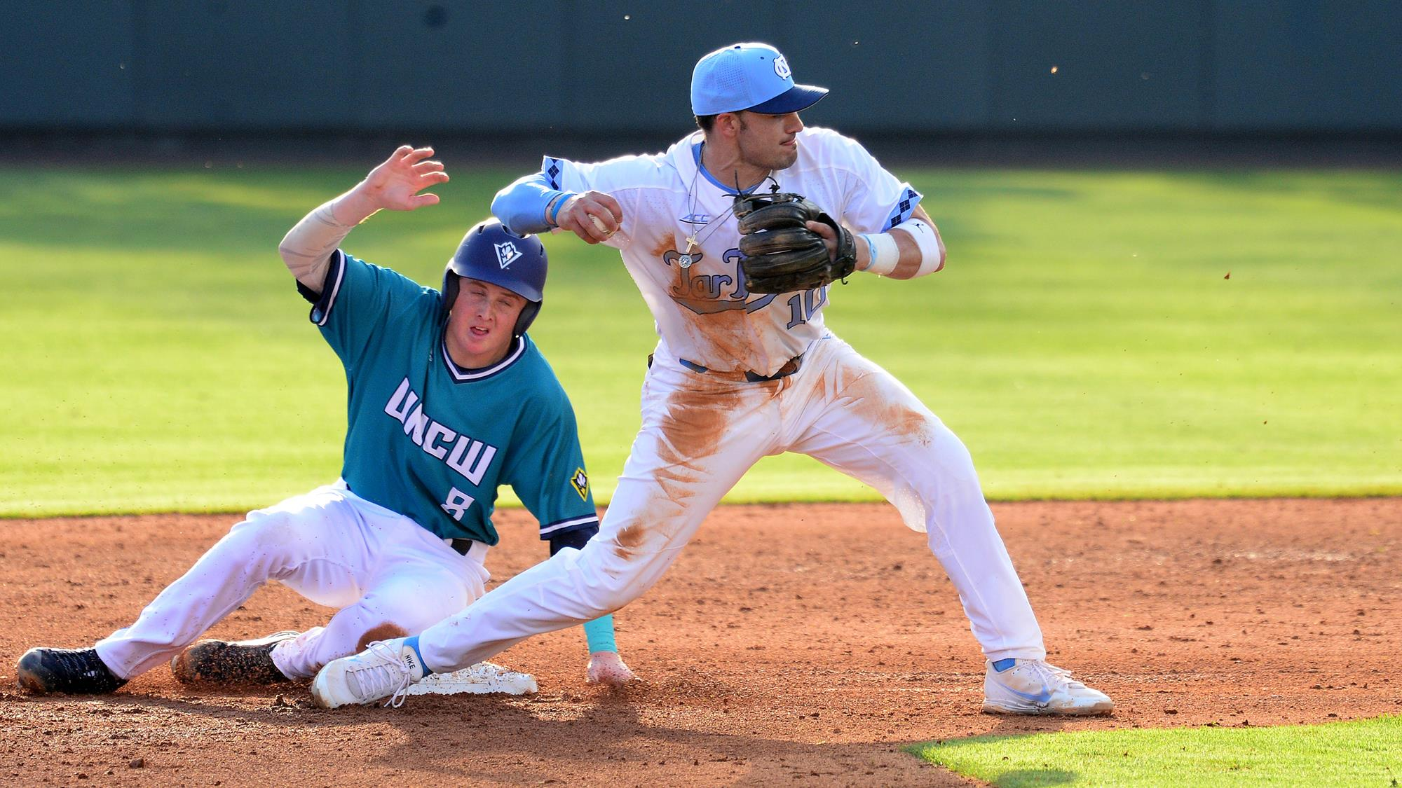 tar heels fall in home opener to uncw, 5-4 - university of north