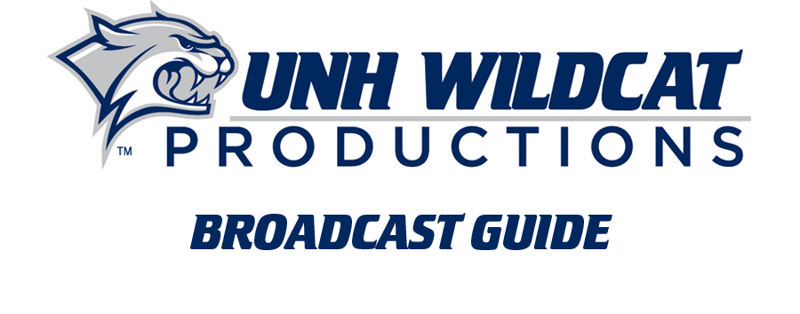 UNH Wildcats - Broadcast Guide