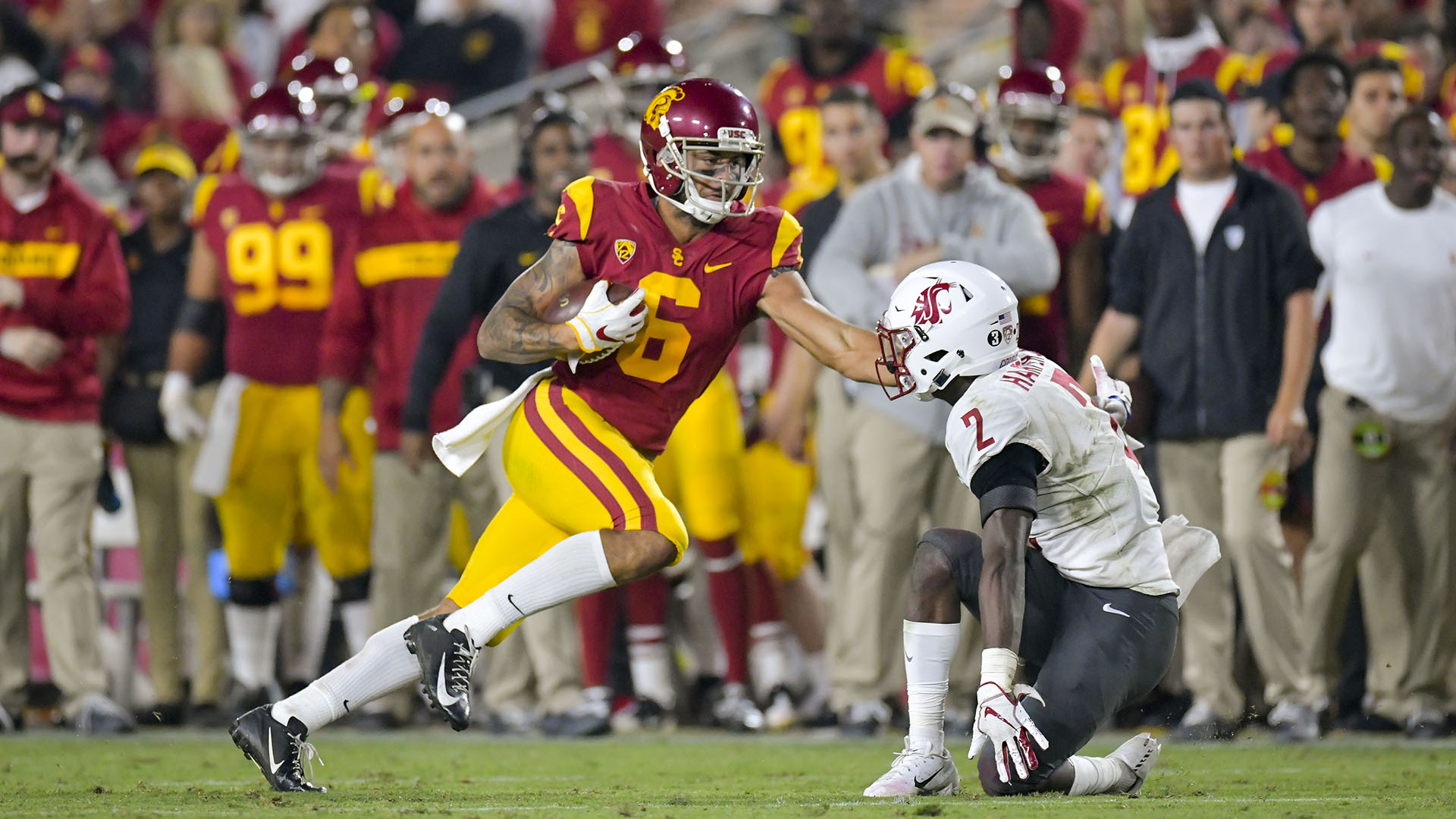 Usc Trojans Football >> Usc Football Welcomes Arizona State In Pac 12 South Matchup Usc