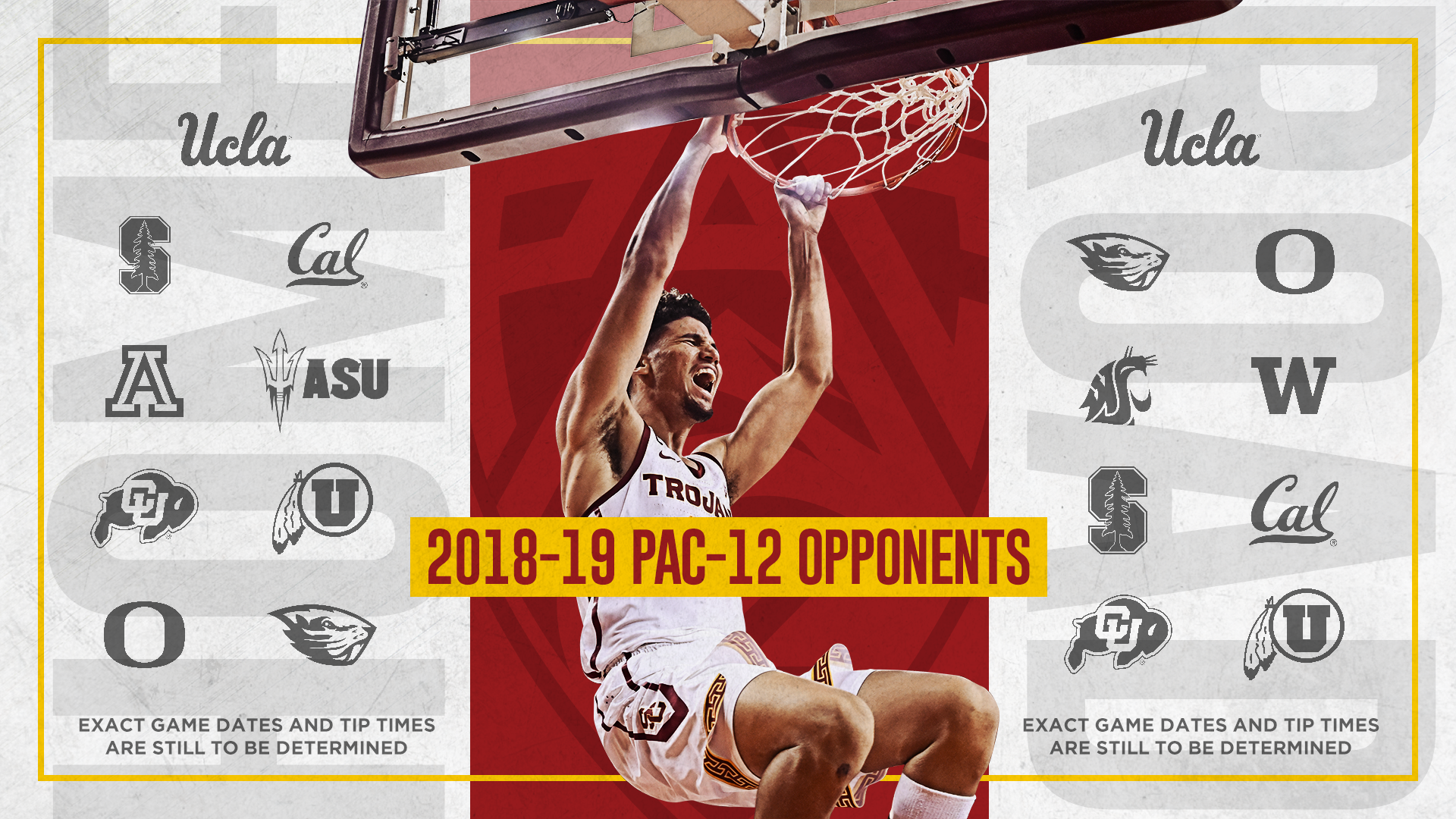 Usc Announces 2018 19 Men S Basketball Schedule Usc Athletics