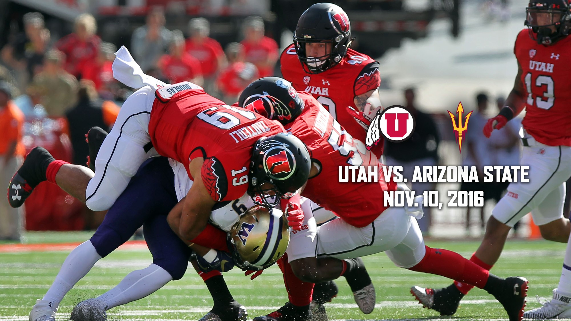 No 13 12 Utah Football Plays Thursday At Asu University Of Utah