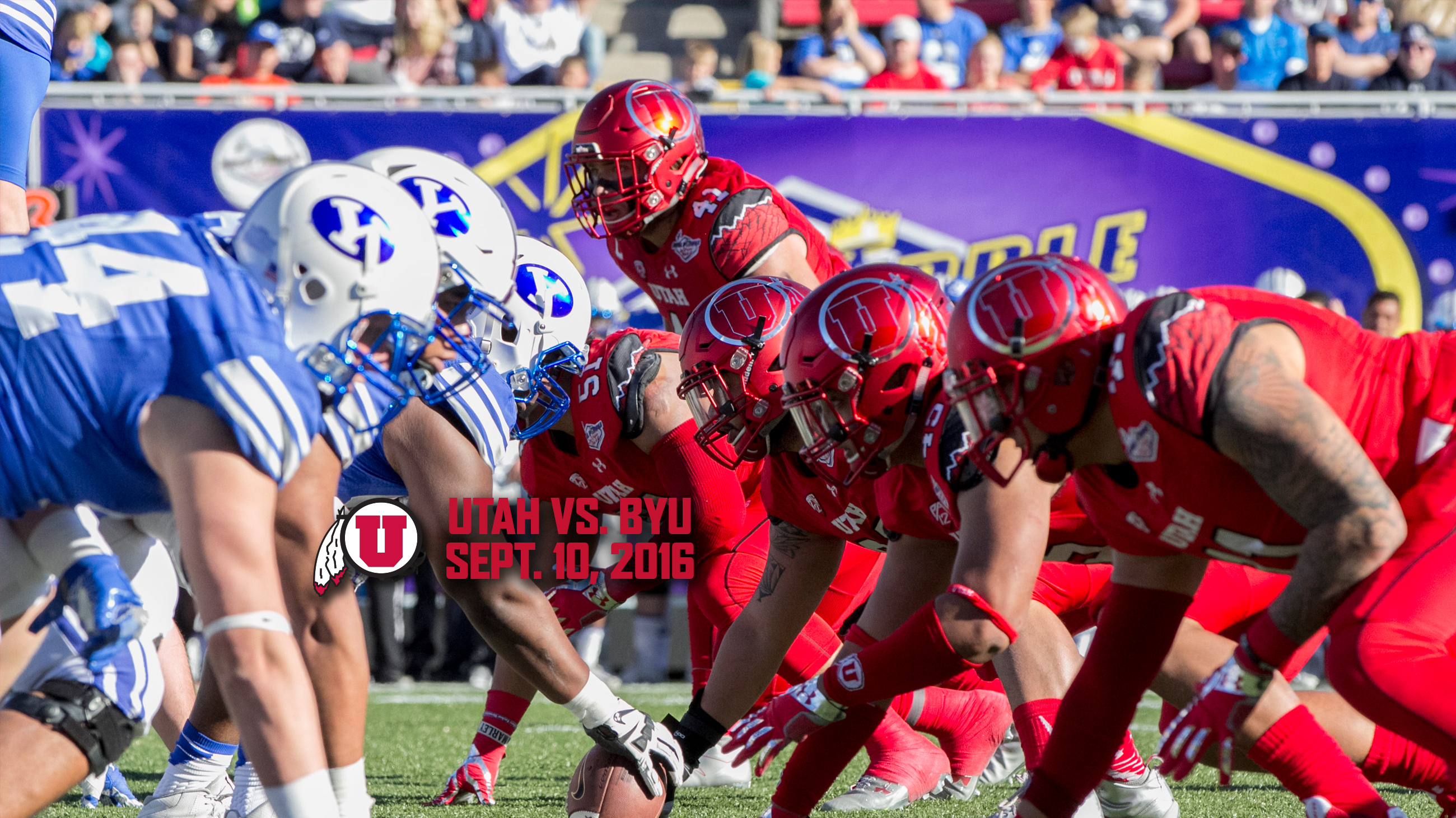 Utah Football Hosts Byu Saturday University Of Utah Athletics