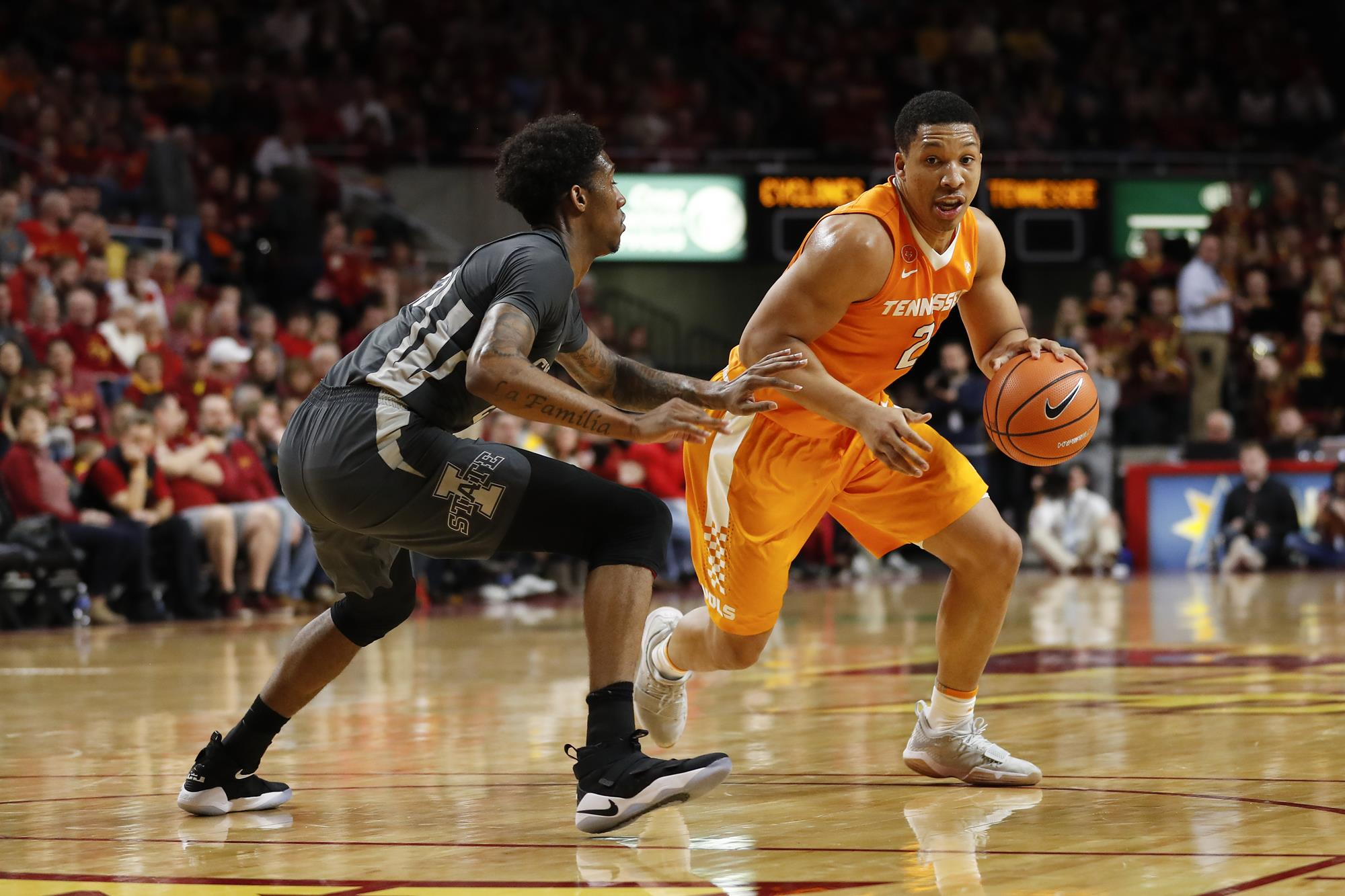 Grant Williams Mens Basketball University Of Tennessee Athletics