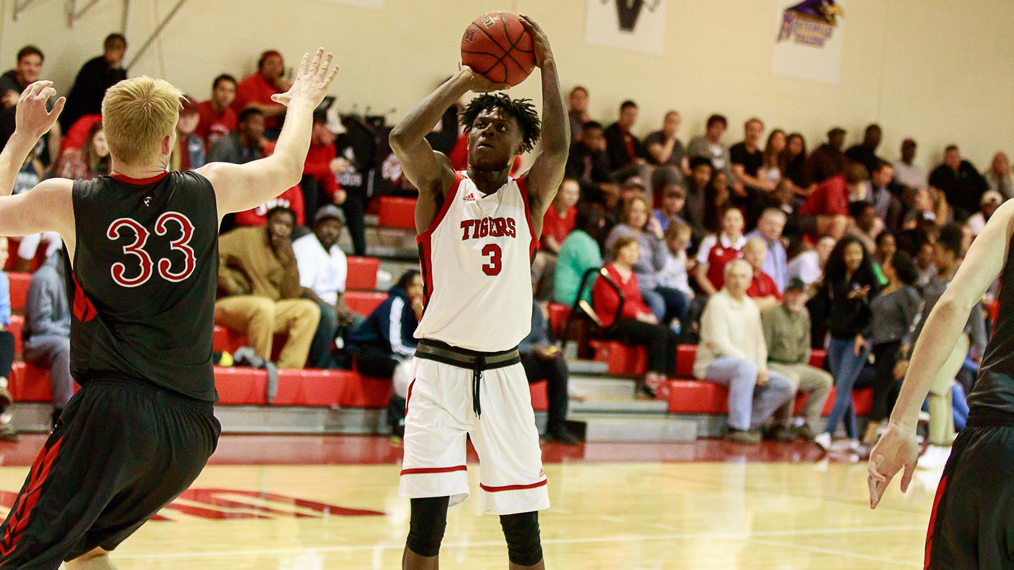 Tigers Hold Back Cbu For 86 67 Victory In Gsc Contest
