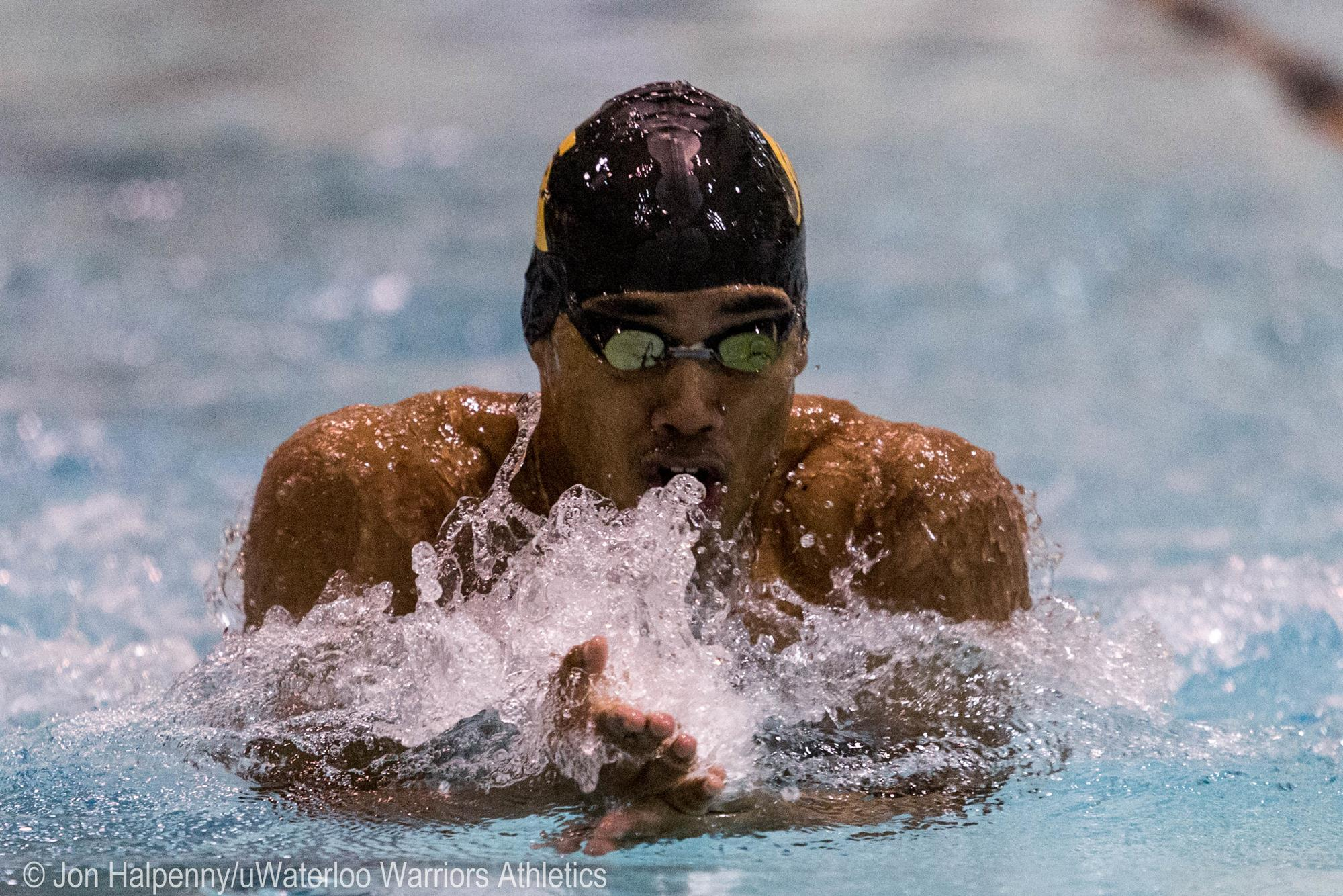 Jonathan Ramkissoon Swimming University Of Waterloo Athletics