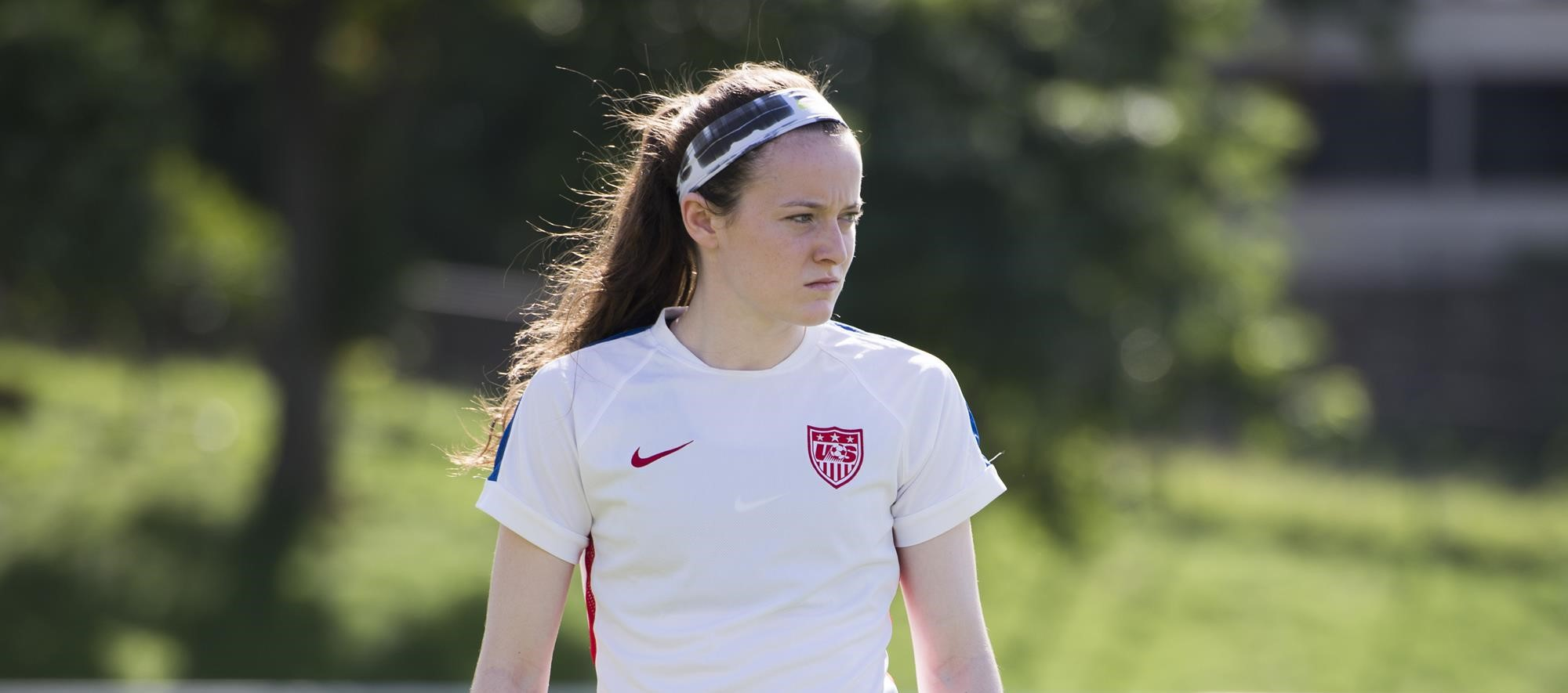 fc80aa0ee98 Rose Lavelle with U.S. Soccer during its Victory Tour. ISI Photos. Women's  ...