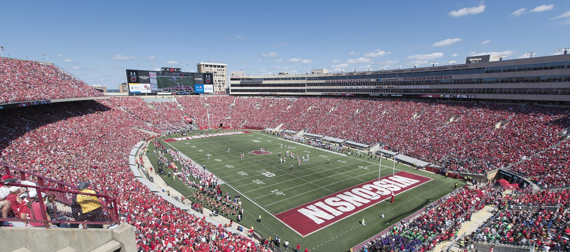 It is a picture of Modest Wisconsin Badgers Football Schedule 2020 Printable