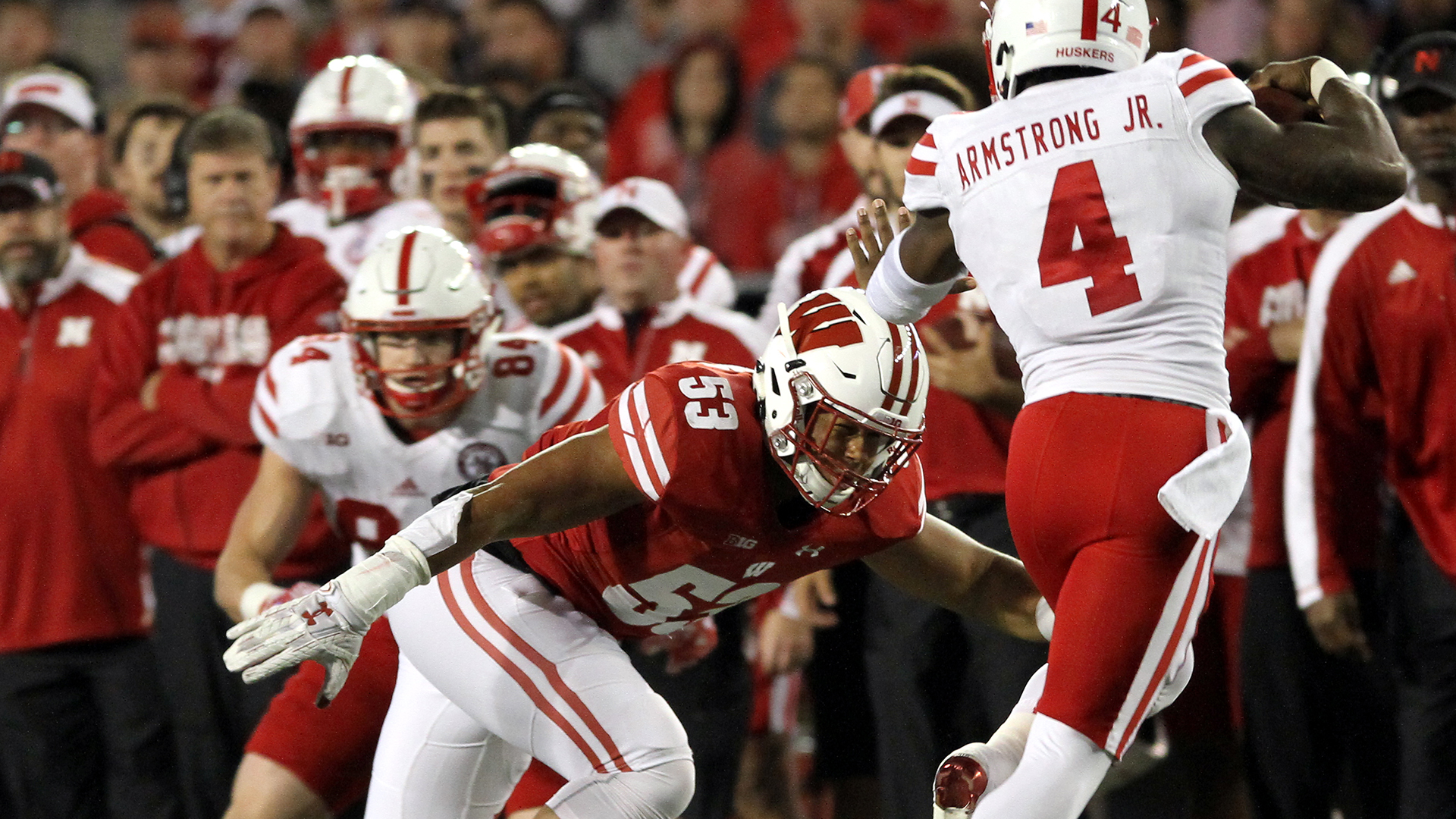 t j edwards 2018 football roster wisconsin athleticsimage 6