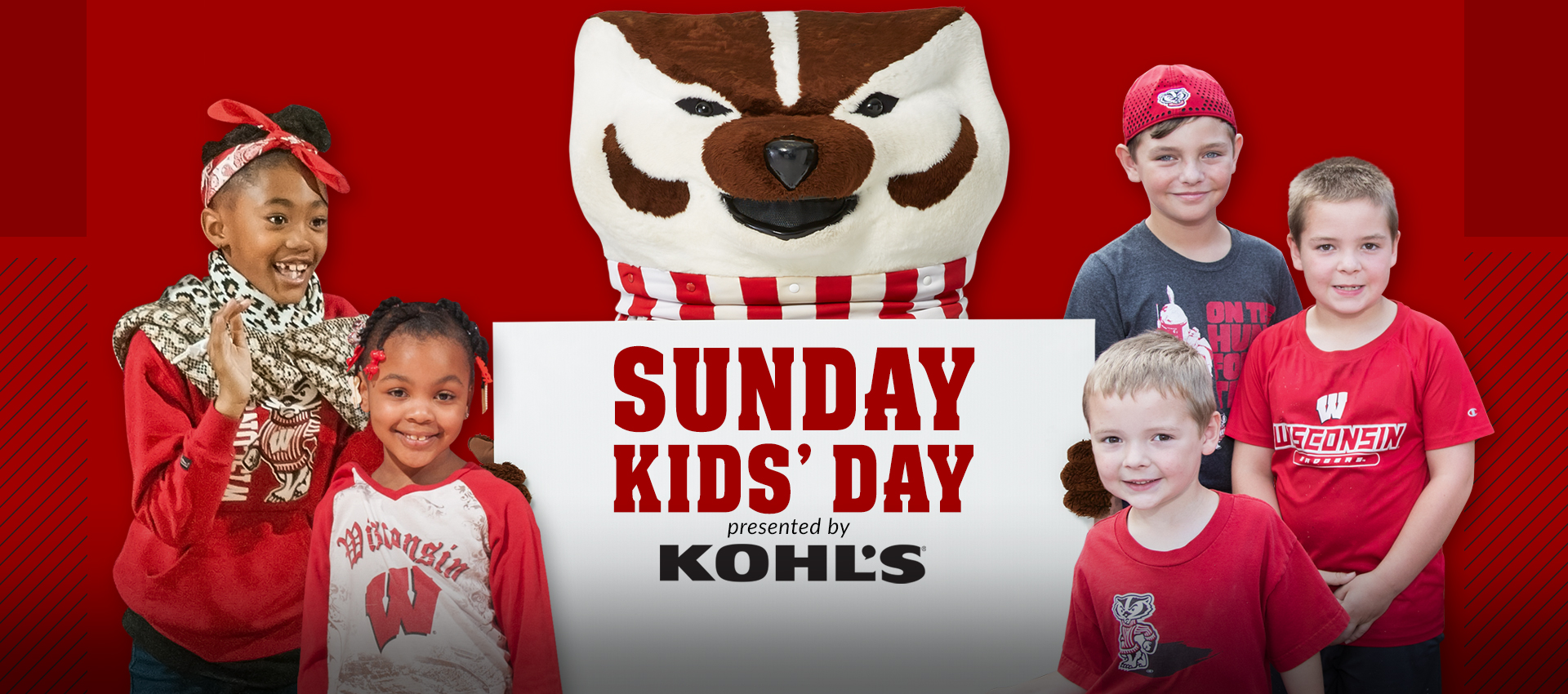 Badgers Announce Sunday Kids Days Lineup Wisconsin Athletics