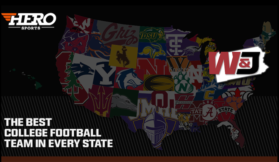 WJ Selected Best College Football Program In Pennsylvania