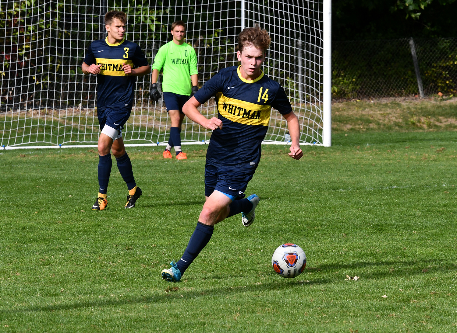 Blues Bounce Back, Earn Hard-Fought Win Over Puget Sound ...