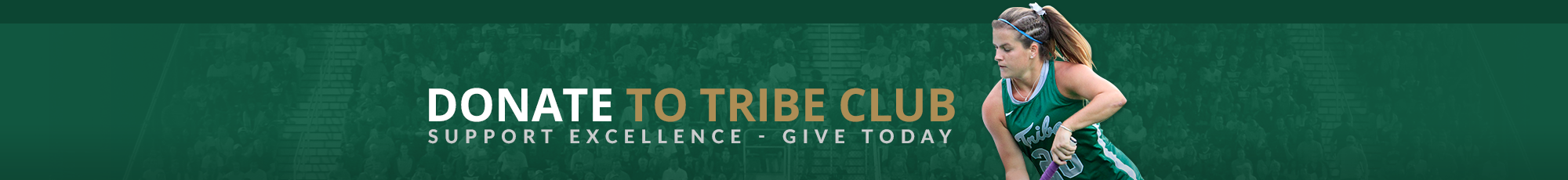 Donate to the Tribe Club Promo