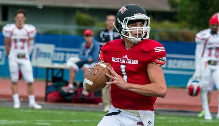 Offense Shines As Football Downs Dixie State Western Oregon