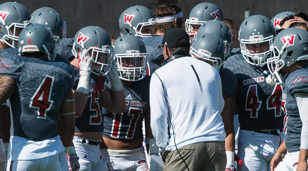Wou Football Announces 2018 Schedule Western Oregon University