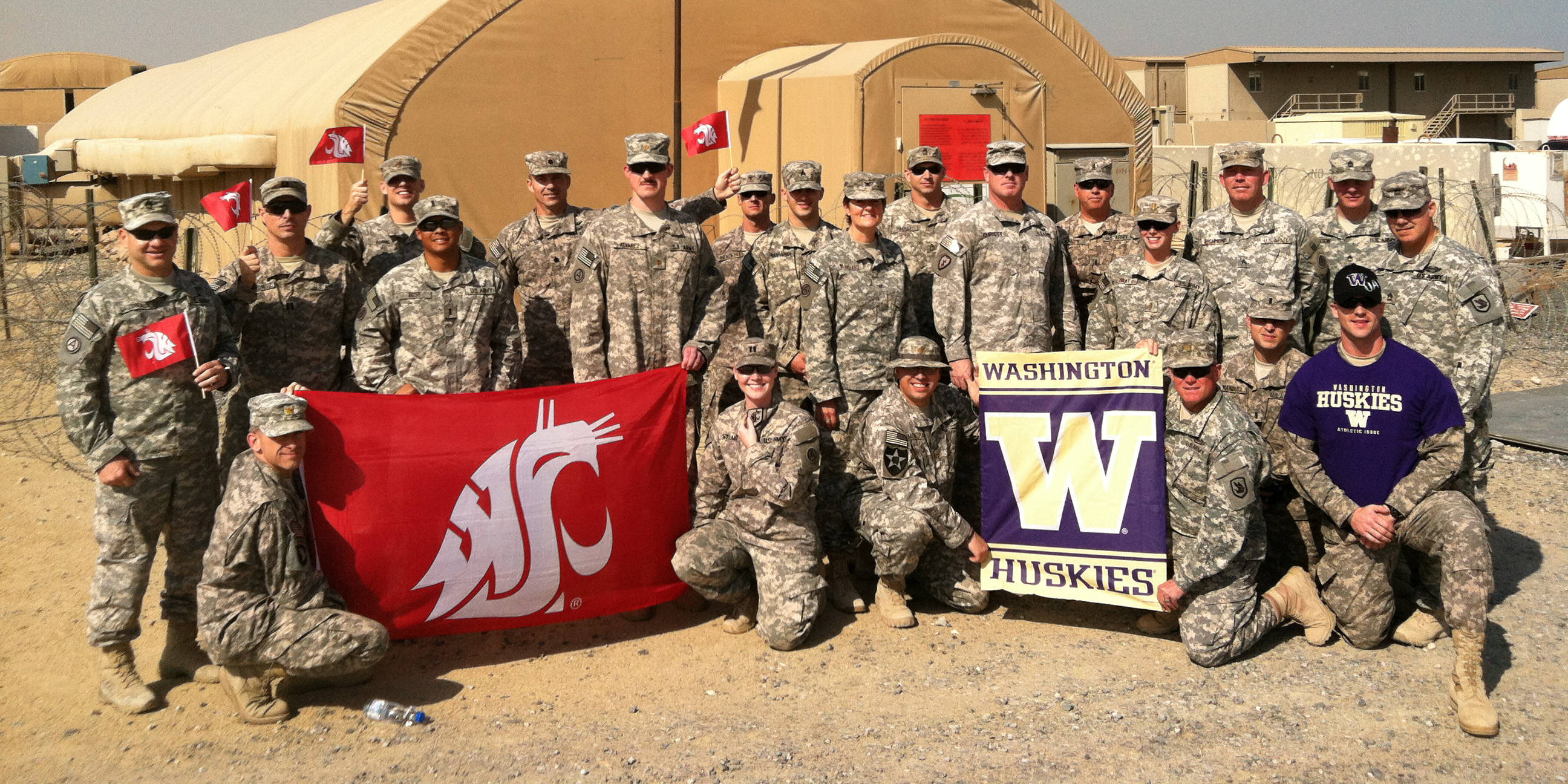 Apple Cup Rivalry Extends to Kuwait - Washington State ...