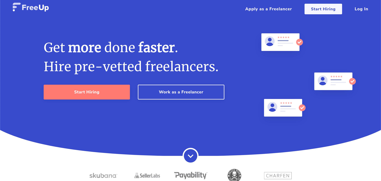 freeup webpage