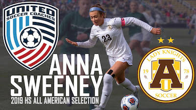 All-American Anna Sweeney