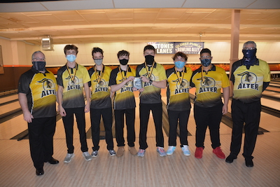 Alter Boys Bowling team finished their season undefeated