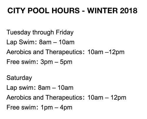city of truth or consequences city pool hours winter 2018