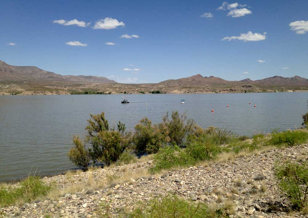 Caballo Lake in Southern New Mexico