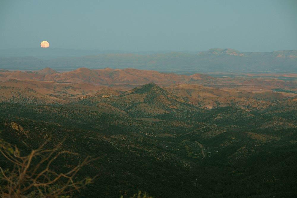 photo of the Black Range by Catherine Wanek