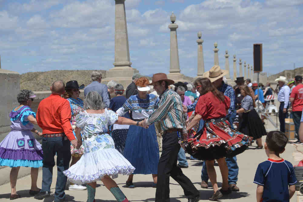 swing dance on Elephant Butte Dam