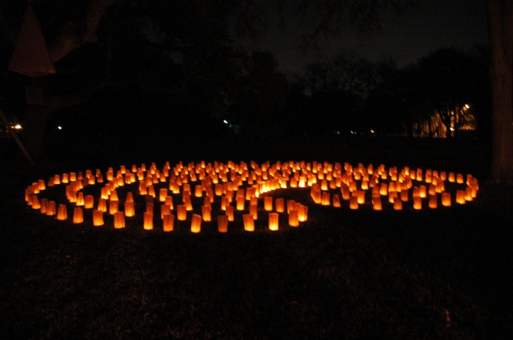 Luminaria Labyrinth Walk at La Paloma Hot Springs and Spa