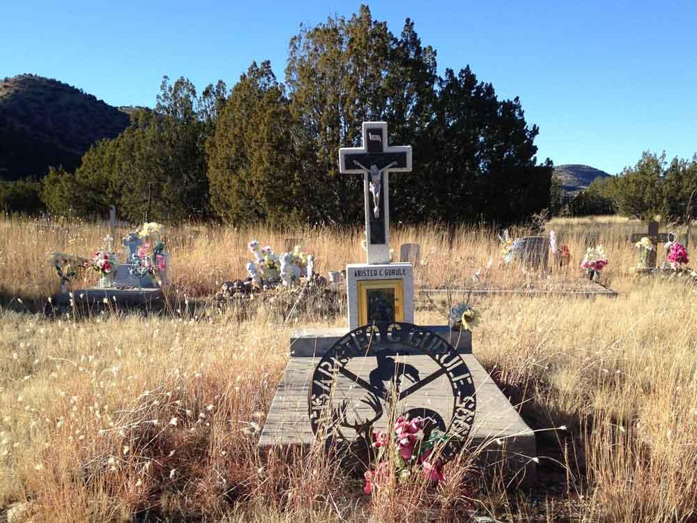 Santo Niño Cemetery, Chloride New Mexico