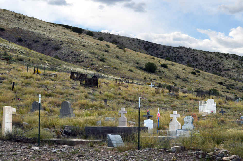 Monticello Cemetery, southeast of Monticello New Mexico