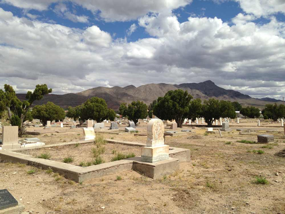 Hot Springs Cemetery, Truth or Consequences New Mexico