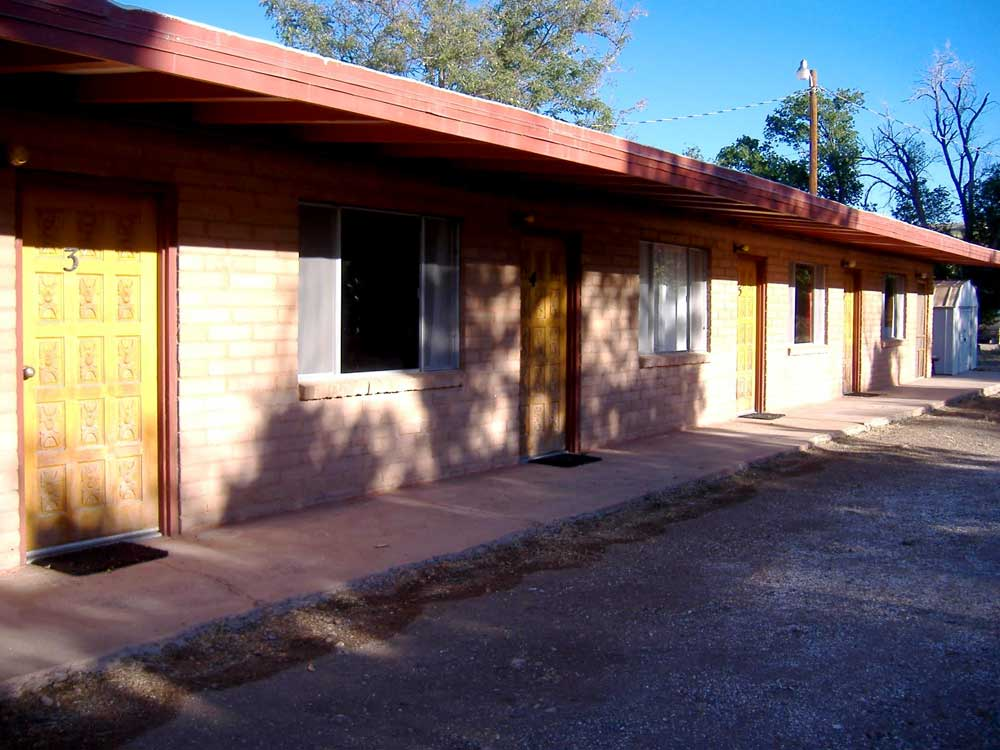 rooms at the Barbershop Plaza Motel in Hillsboro NM