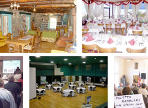 meeting planner: rooms and event venues