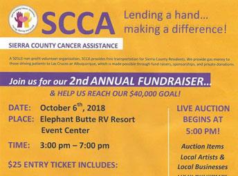 Sierra County Cancer Assistance Fundraiser