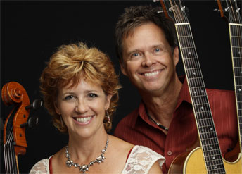musical duo Acoustic Eidolon
