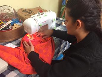 Beginner Sewing at Wildflowers