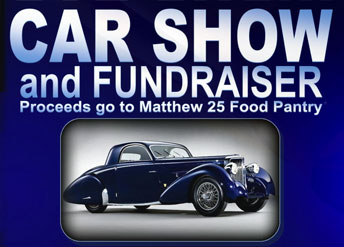 Car Show and Fundraiser for Matthew 25 Food Pantry