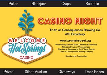 Hot Springs Casino Night
