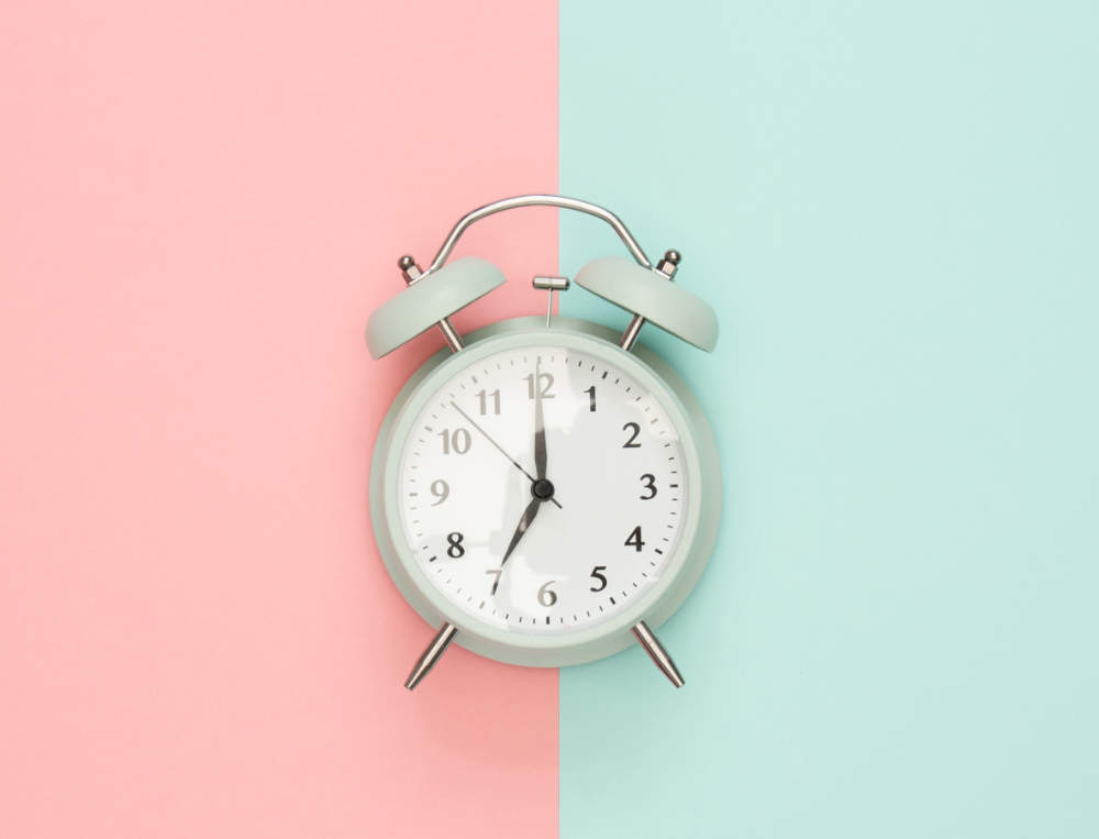 set your clocks to move out of daylight saving time