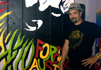 DJ Jah Karma at Truth or Consequences Brewing Co