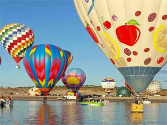 Balloon Regatta at Elephant Butte Lake