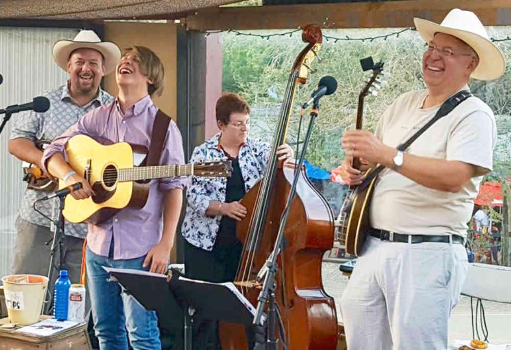 Kitty Jo Creek Bluegrass Band in Hillsboro New Mexico
