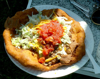 eat Navajo Tacos to support Sierra County Cancer Assistance
