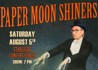 Paper Moon Shiners - live music in Kingston NM