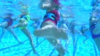 deep water aerobics