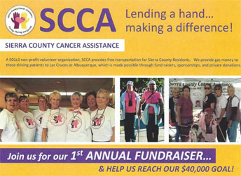 Sierra County Cancer Assistance Fundraiser